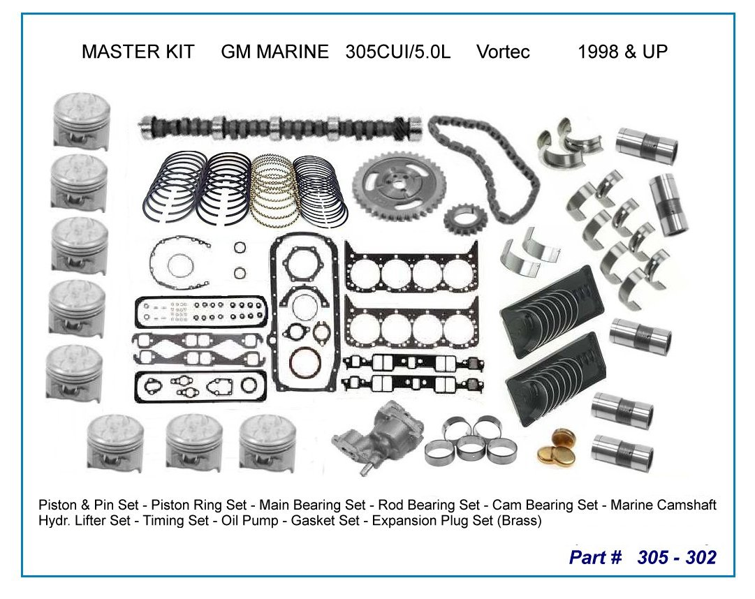 Enginekit001 302 Engine Diagram 20 Piston 305